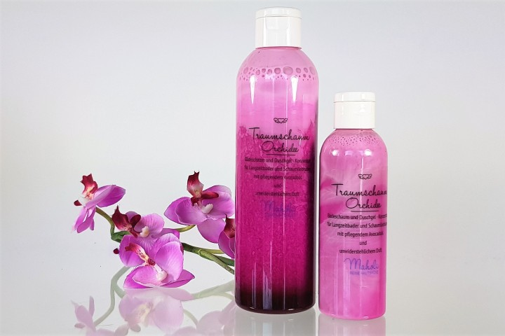 Traumschaum Orchidee (vegan)