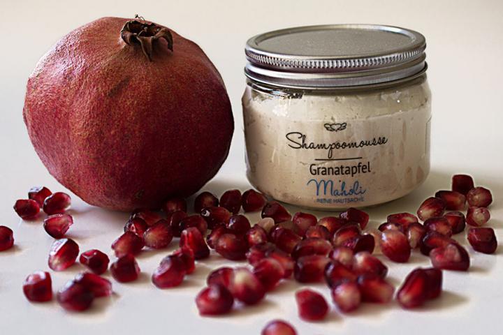Shampoomousse Granatapfel