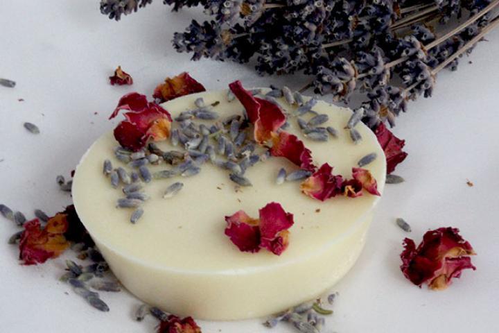 Badetab Lavendel-Rose