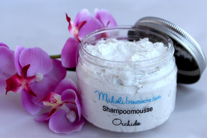 Shampoomousse Orchidee